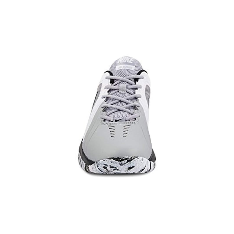 5c9bfb730676 Shop Nike Men Air Maven Low Basketball Shoe Wolf Grey Black Pure Platinum  Size 11 M Us - Free Shipping Today - Overstock.com - 25661582