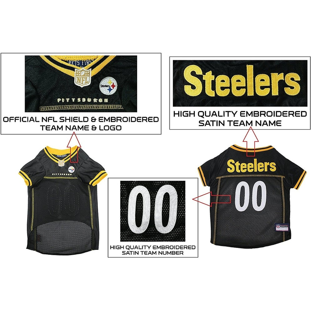 971ef9a8d Shop NFL Pittsburgh Steelers Premium Jersey - Free Shipping On Orders Over   45 - Overstock - 19991602