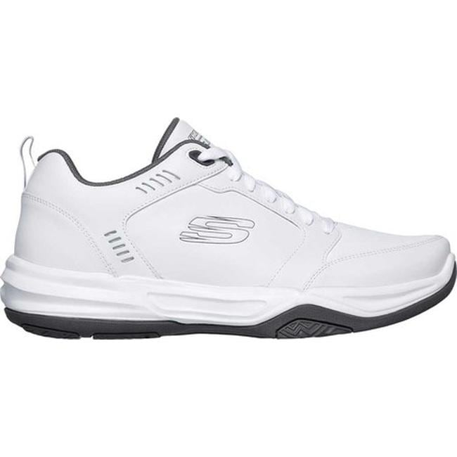6c87cd7c Shop Skechers Men's Relaxed Fit Monaco TR Gold Cats Trainer White/Gray -  Free Shipping Today - Overstock - 25578040