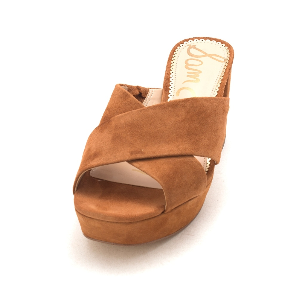 0e83e55d2c3c6 Shop Sam Edelman Womens Jayne Suede Open Toe Casual Slide Sandals - Free  Shipping On Orders Over  45 - Overstock - 22811186