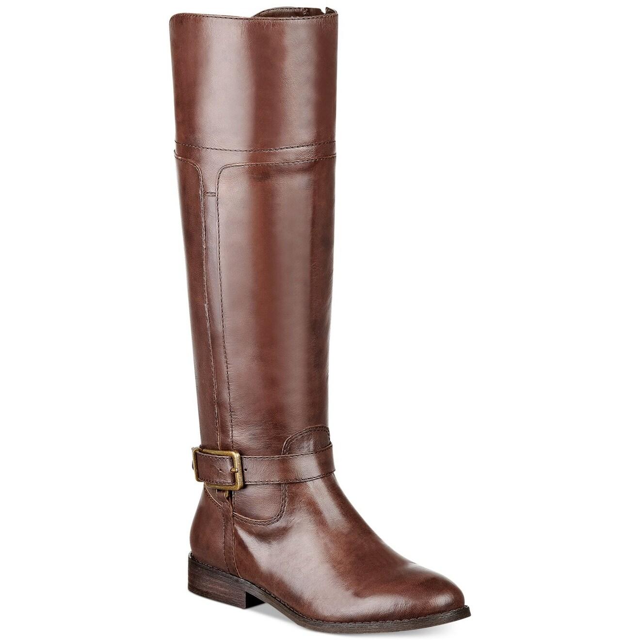 marc marc marc fisher  s aysha vachette almond orteil à hauteur de genou l'ensemble des bottes mode 267755