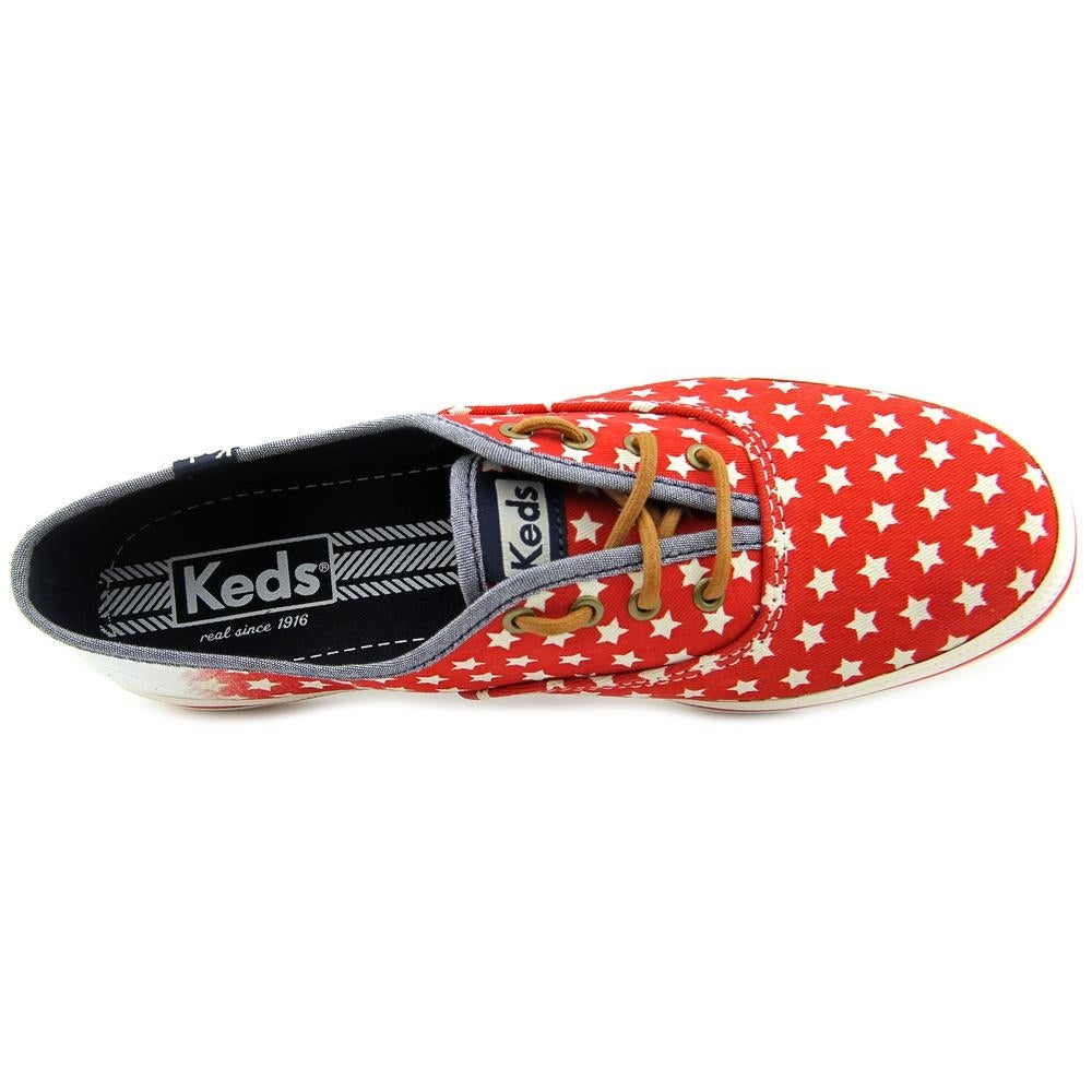 0baf37b649a Shop Keds Champion Patriotic Women Round Toe Canvas Sneakers - Free  Shipping On Orders Over  45 - Overstock - 13561918