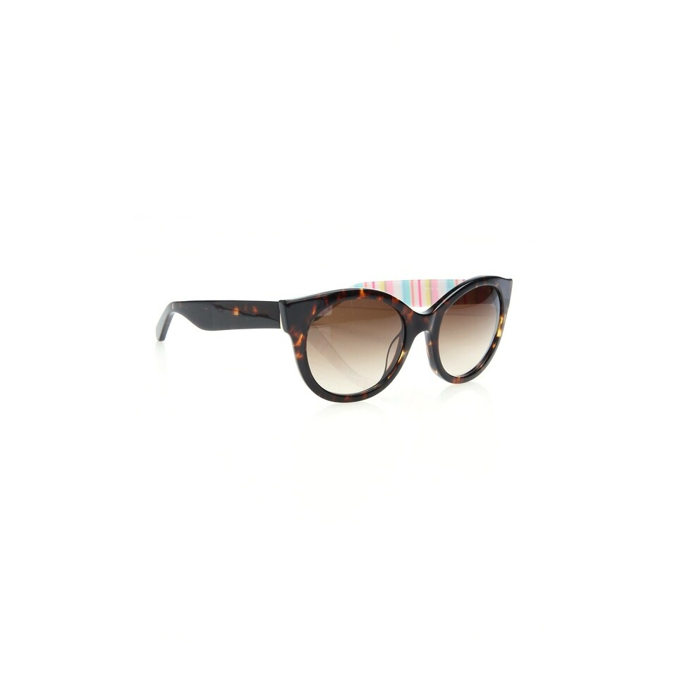 96a702fa91 Shop Kate Spade Melly Women s Plastic Sunglasses - Brown - One Size - Free  Shipping Today - Overstock - 26566520