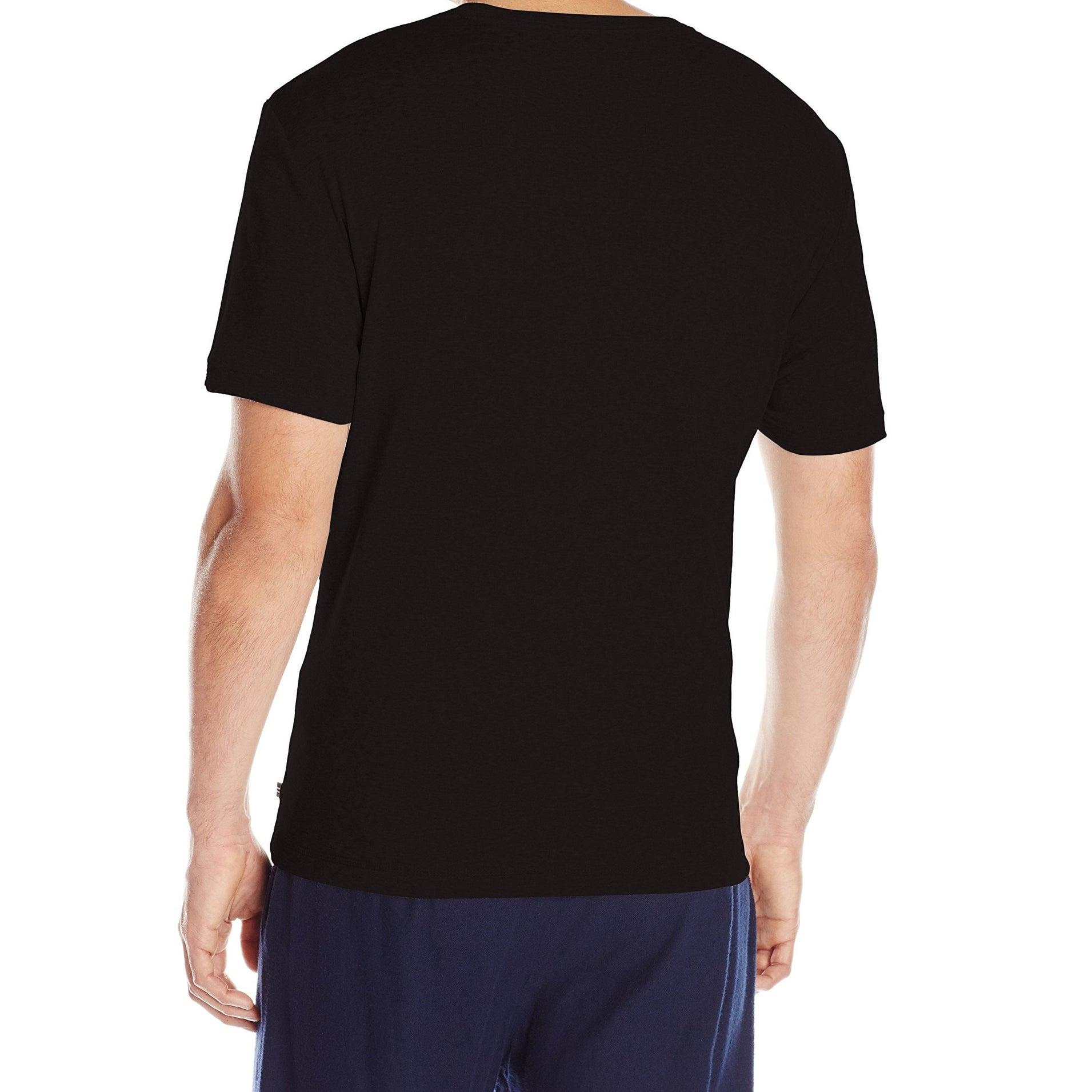 ceb238c99ae Shop Nautica NEW Black Mens Size Medium M Solid Crewneck Sleepwear T-Shirt  - Free Shipping On Orders Over $45 - Overstock - 19573319