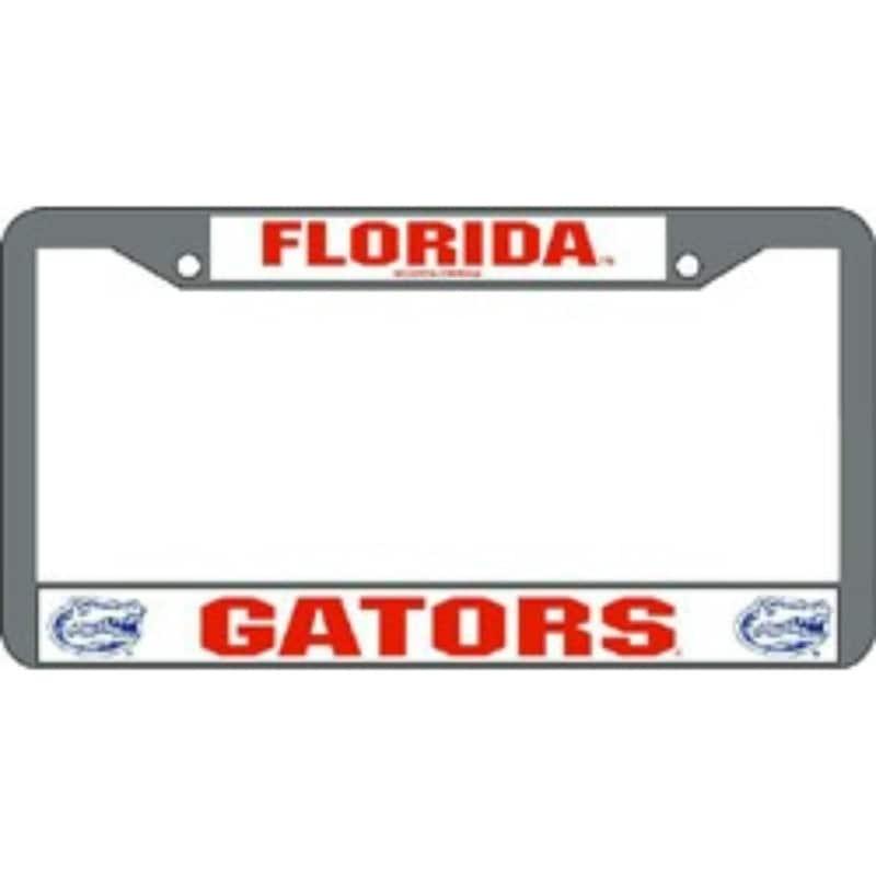 Shop Florida Gators Chrome License Plate Frame - Ships To Canada ...