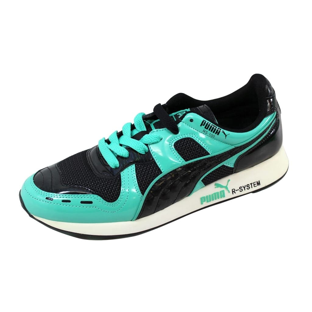 save off 05317 b16a3 Shop Puma RS100 Opulence Black Electric Green 356864 02 Men s - Free  Shipping Today - Overstock - 21141640