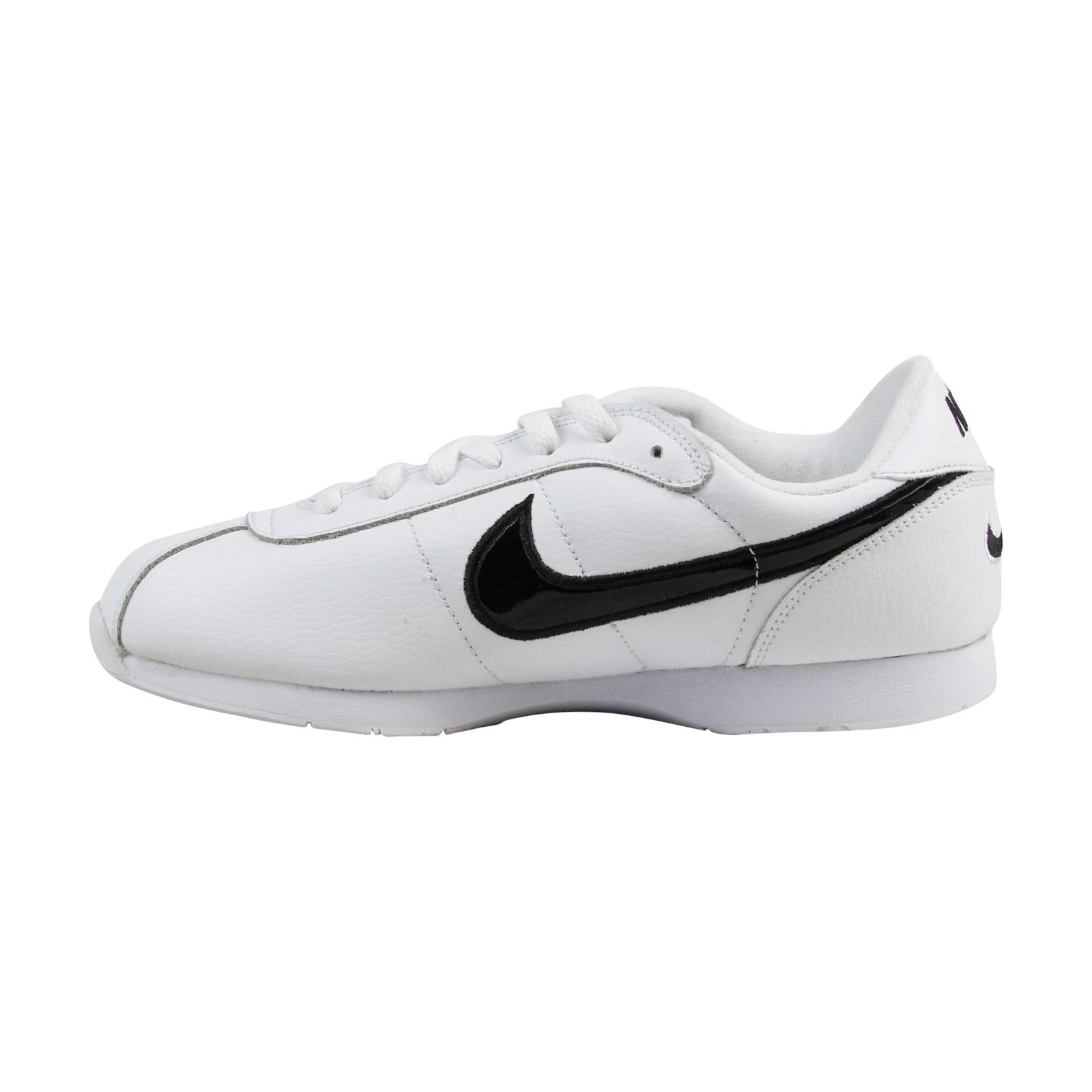 outlet store 9f269 748fc Shop Nike Stamina Mens White Leather Athletic Lace Up Running Shoes - Free  Shipping Today - Overstock - 18553176