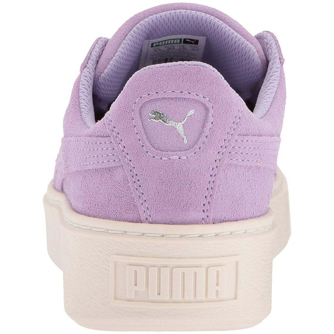 b8798e9c40c368 Shop Kids Puma Girls Kids  Suede Platform Glam Sneaker Low Top Lace Up  Fashion Sne... - Free Shipping On Orders Over  45 - - 25573276