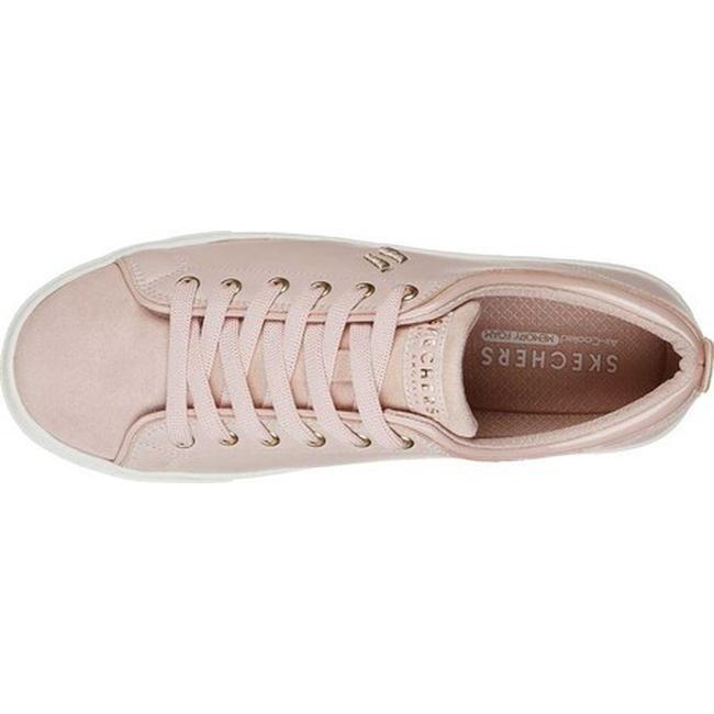 a24c0887ebed Shop Skechers Women s Goldie Street Sleak Sneaker Light Pink - Free  Shipping On Orders Over  45 - Overstock - 25644755