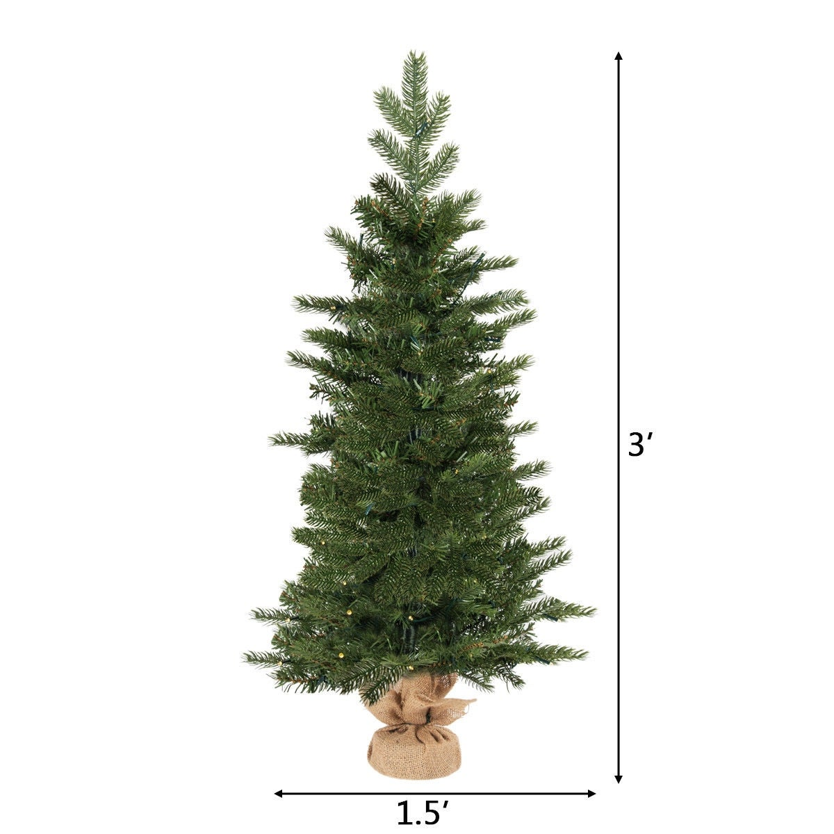 Battery Operated Tabletop Christmas Trees Amazoncom Best Choice