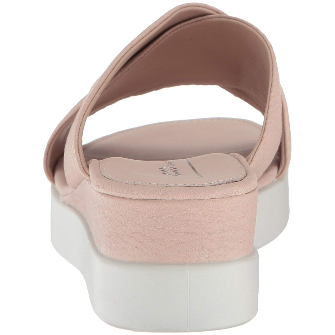 f033e718ed3e Shop ECCO Womens Touch Leather Open Toe Casual Slide Sandals - Free  Shipping Today - Overstock - 21138251