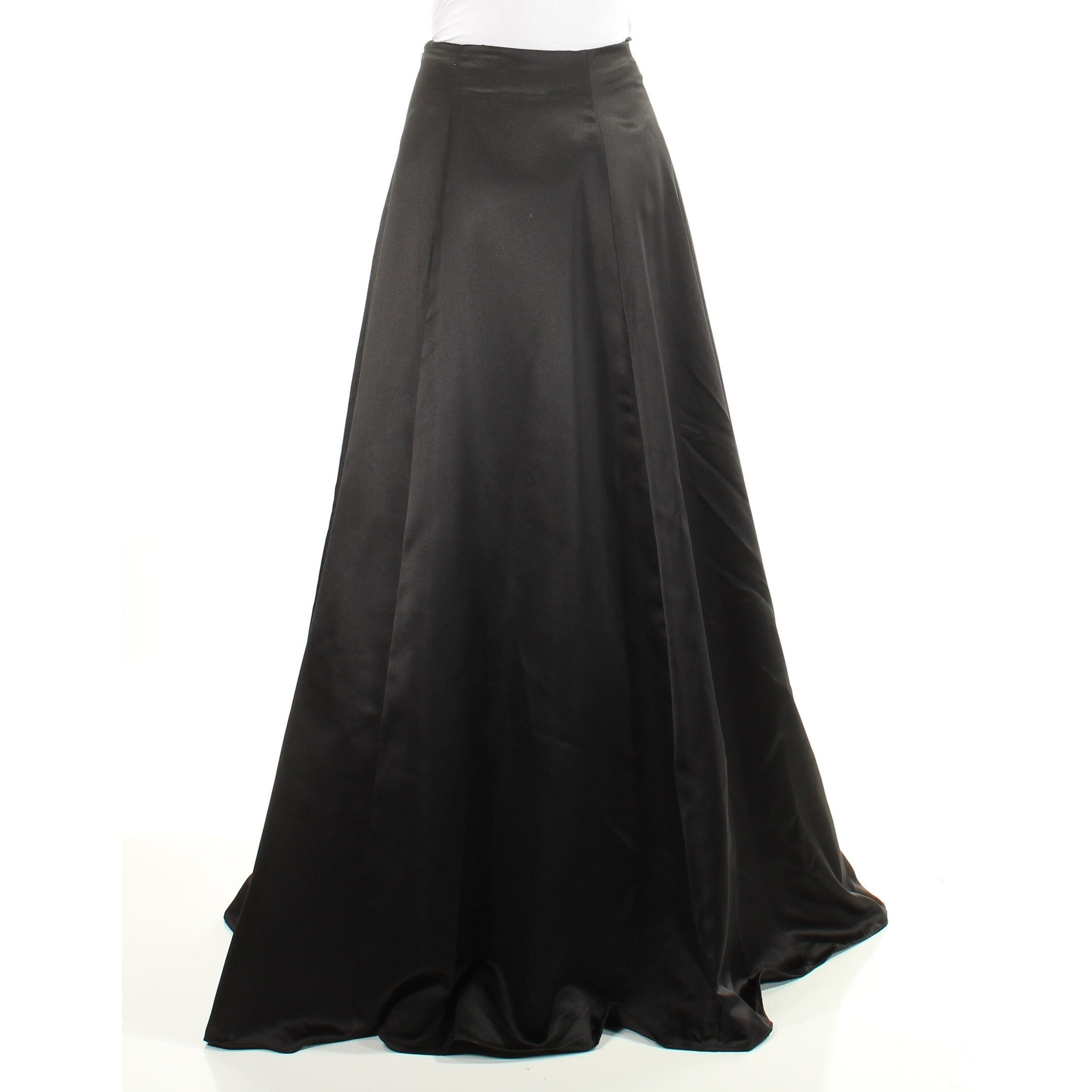 7852ae923 Shop BLONDIE Womens Black Zippered Full Length A-Line Evening Skirt Juniors  Size: 3 - On Sale - Free Shipping On Orders Over $45 - Overstock - 21678667