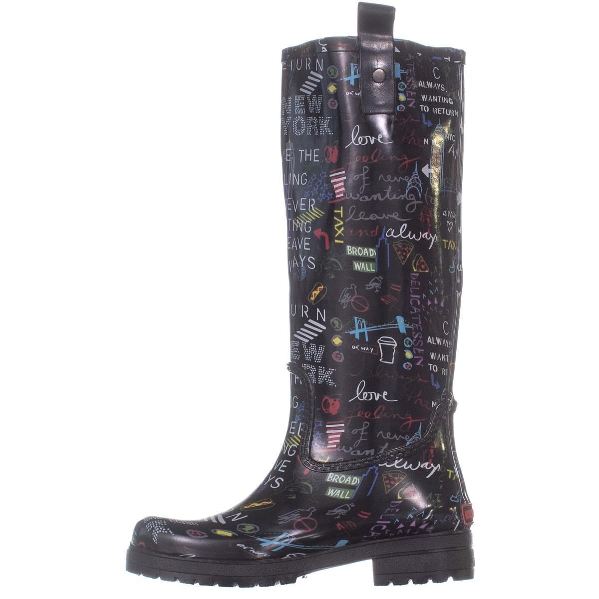 0fda8850f0de Shop DKNY Niagara Knee High Rain Boots