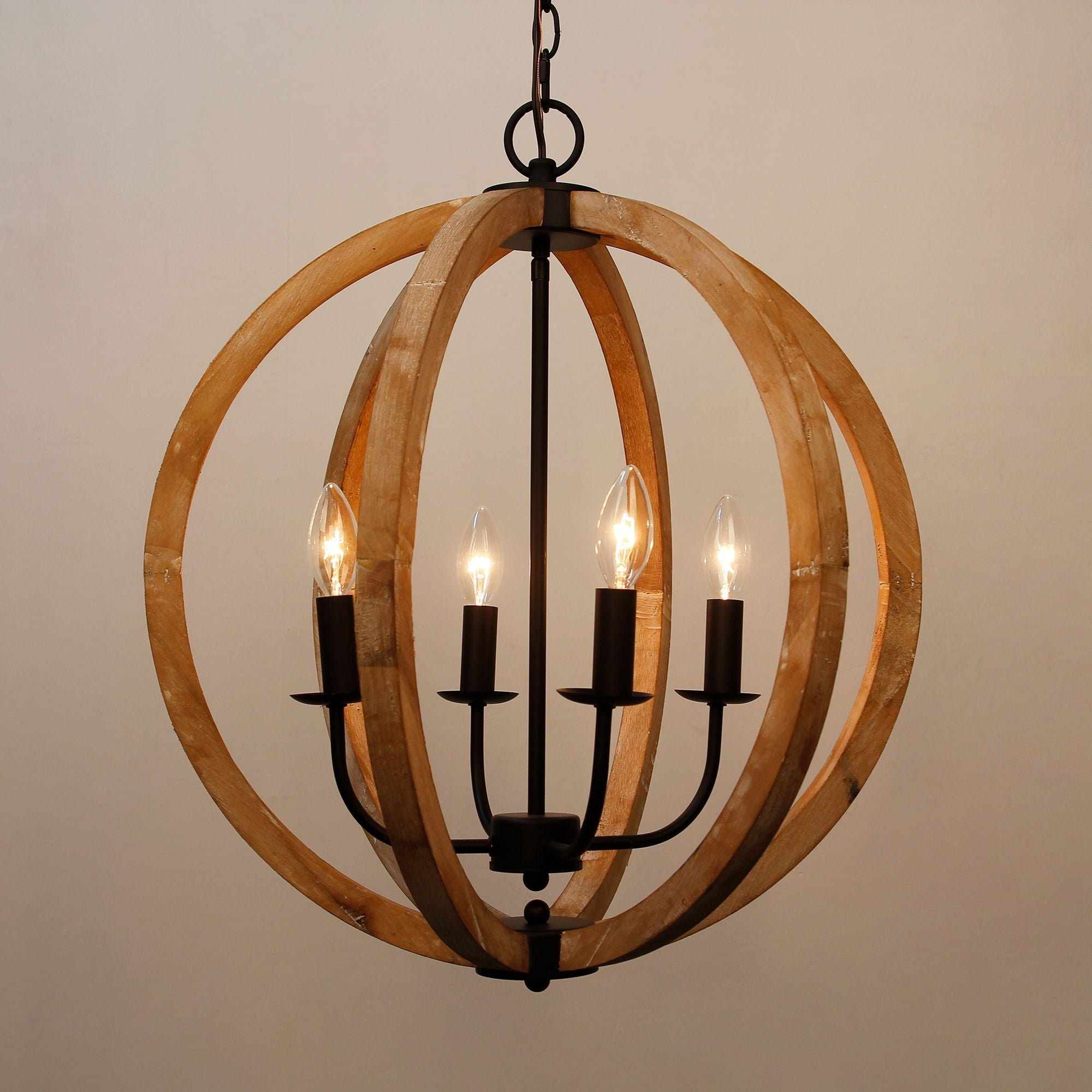 Antique 4 light distressed wood orb chandelier free shipping today antique 4 light distressed wood orb chandelier free shipping today overstock 26422657 arubaitofo Gallery