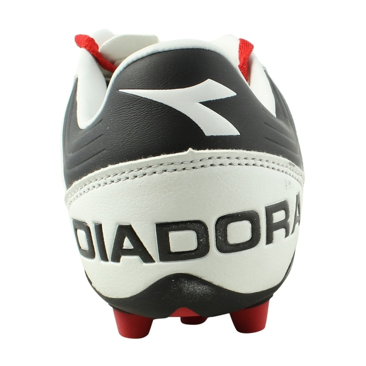 fd21c6465c0 Shop Diadora Mens Ita 3 White Black Soccer Cleats Size 8 - Free Shipping On Orders  Over  45 - Overstock - 22900550
