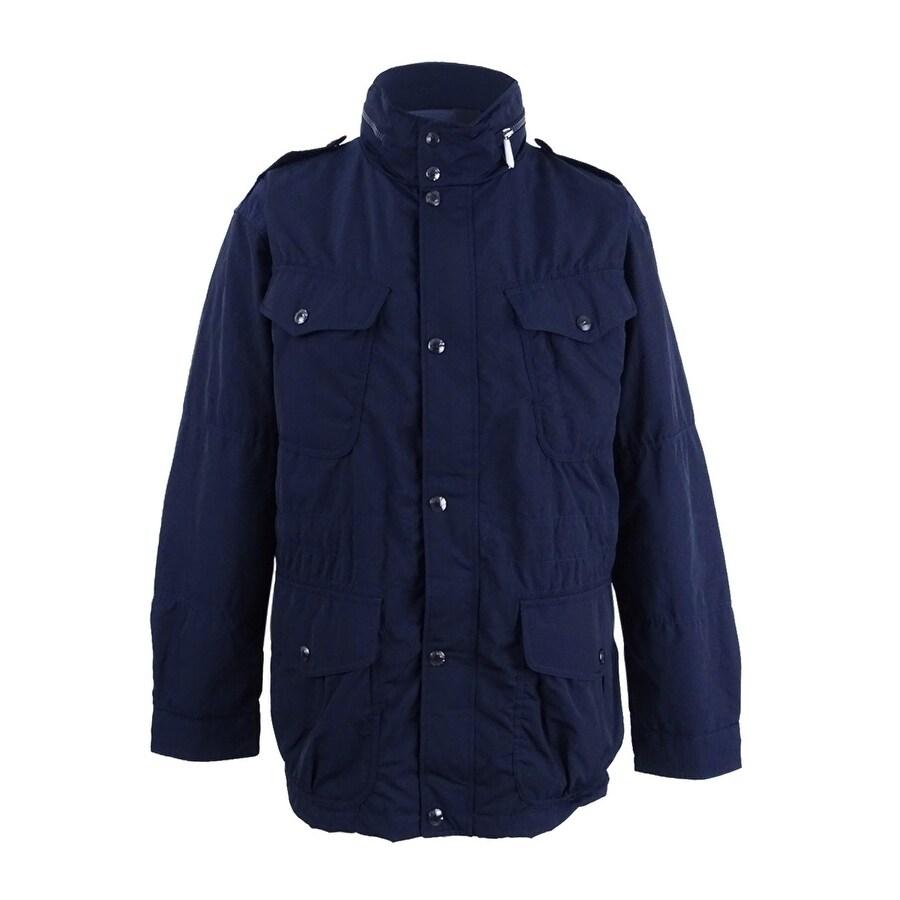 Shop Polo Ralph Lauren Men\u0027s Double-Vented Utility Down Jacket (XXL, Navy)  - Navy - XxL - Free Shipping Today - Overstock.com - 21184618