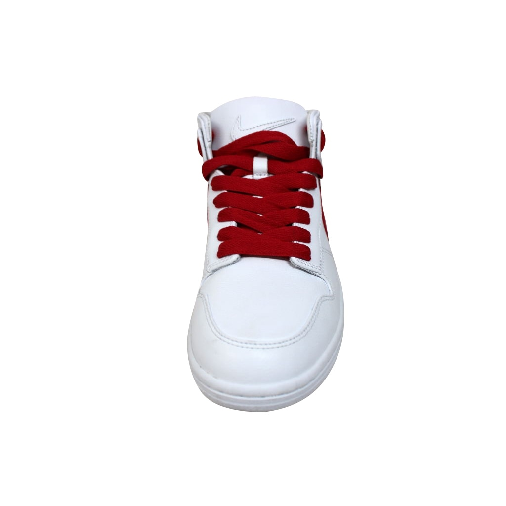 hot sale online 6bd35 21767 Shop Nike Men s Dunk Lux Chukka RT White Distance Red Riccardo Tisci 910088- 100 - Free Shipping Today - Overstock - 19507859