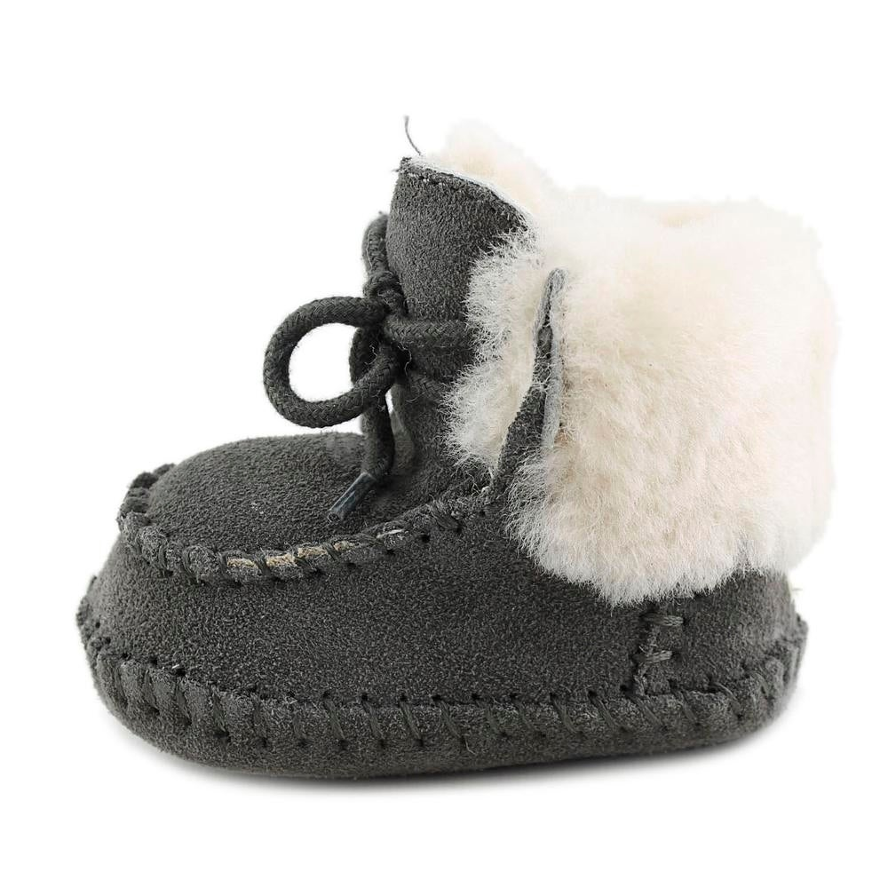 2f3306bafff Ugg Australia Sparrow Infant Round Toe Suede Gray Snow Boot