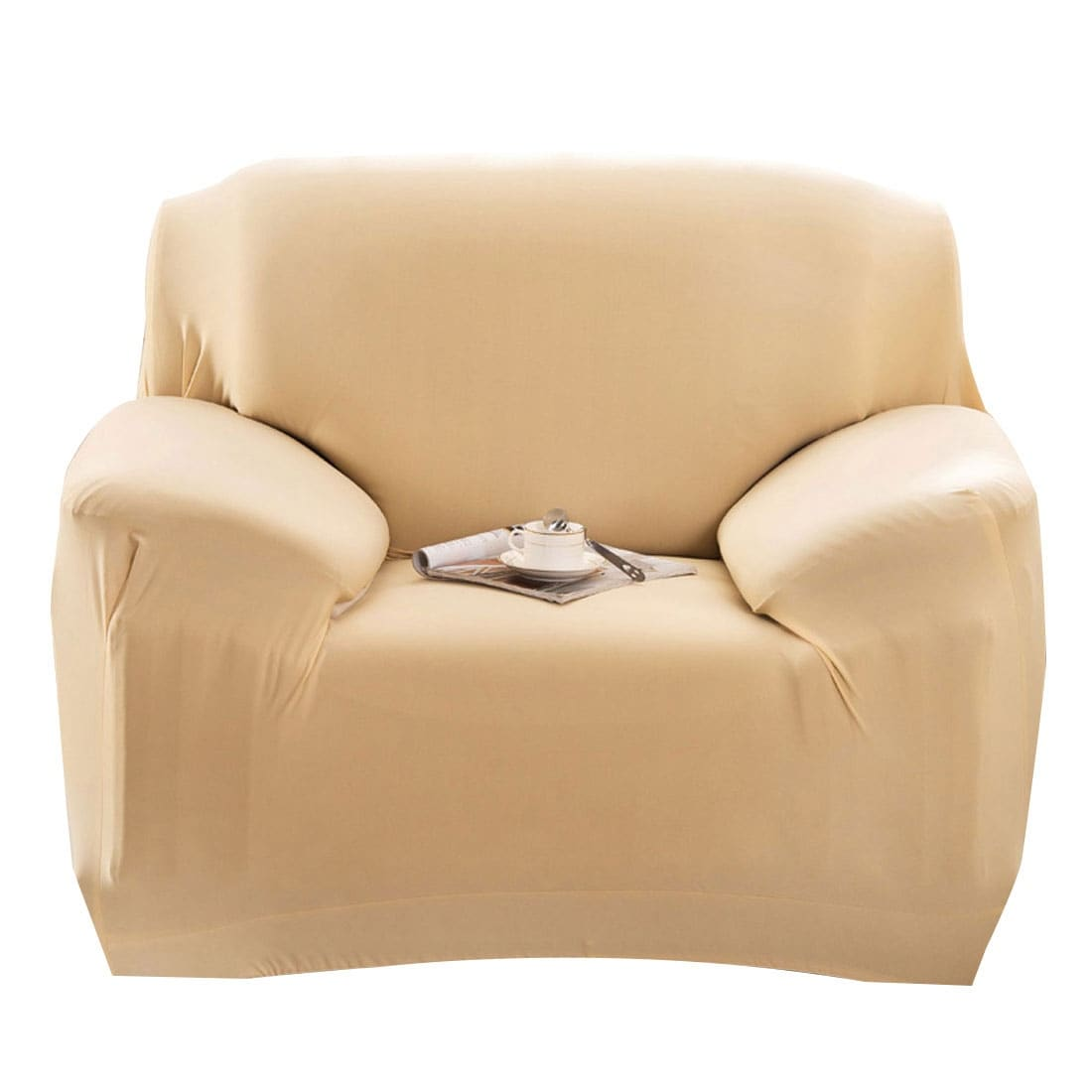 Shop Stretch 1/2/3 Seats Sofa Chair Cover Loveseat Couch Sofa Slipcover  Solid Color   Free Shipping On Orders Over $45   Overstock.com   16823911