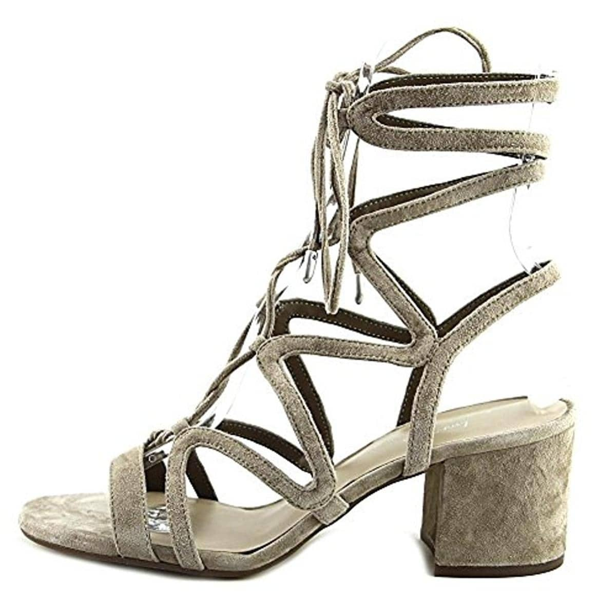21c84bab3557 Shop 424 Fifth Womens Honey Dress Sandals Suede Caged - On Sale - Free  Shipping On Orders Over  45 - Overstock - 20982808