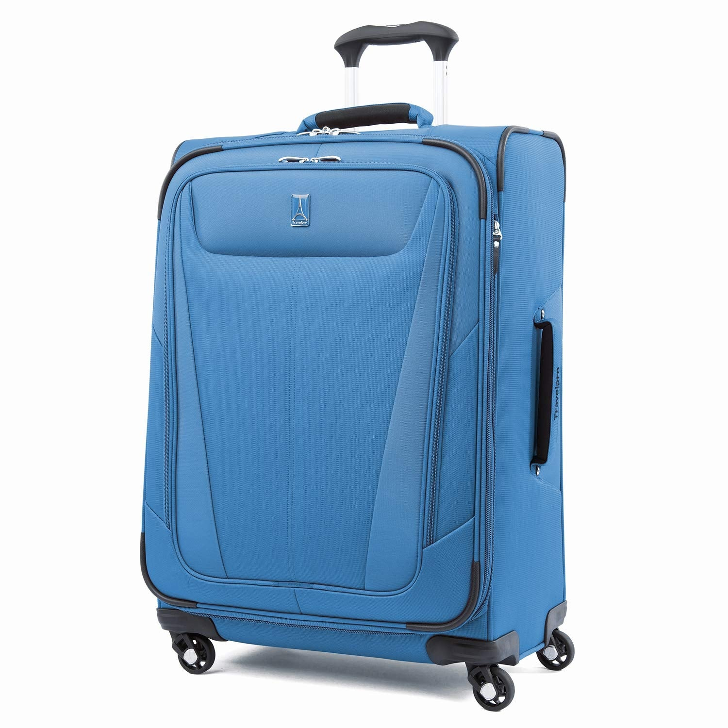 a4c041271 Travelpro Maxlite 5 - 25 Azure Blue Polyester Fabric Expandable Spinner w/  Honeycomb Frame System