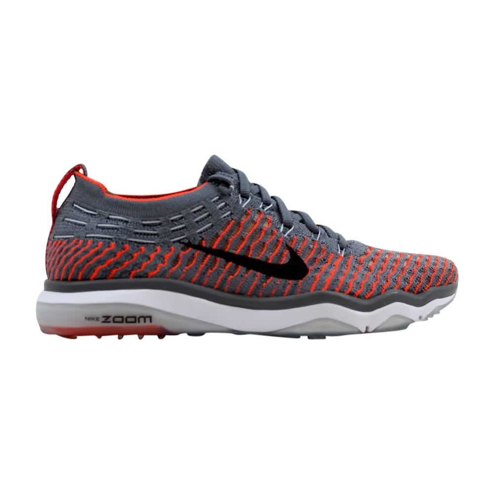63e78efa0e24e Nike Air Zoom Fearless Flyknit Cool Grey/Black-Total Crimson Women's  850426-003 Size 6 Medium