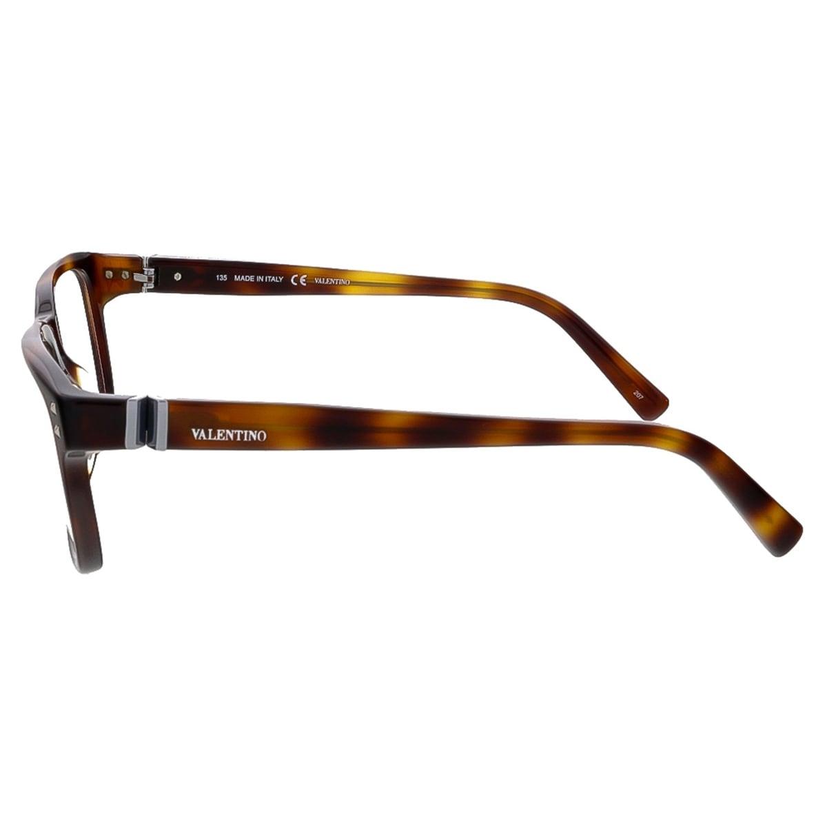03d2b37200 Shop Valentino V2634 214 Havana Rectangular Valentino Eyewear - 53-18-135 -  Free Shipping Today - Overstock - 13464741
