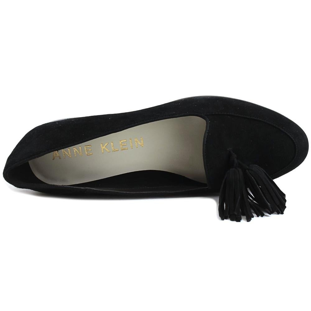 772c837ba34 Shop Anne Klein Darcy Women Round Toe Suede Black Loafer - Free Shipping  Today - Overstock - 20090569