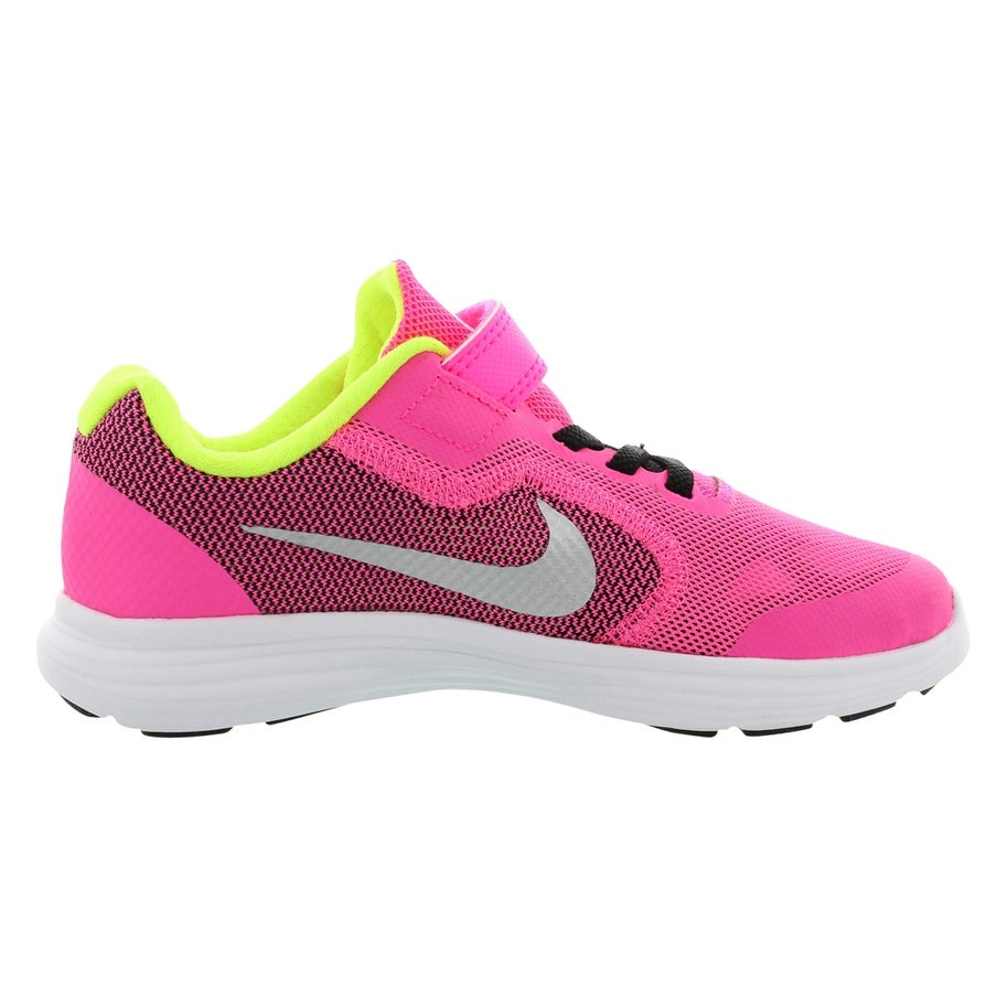 7f9ea708a93 Shop Nike Revolution 3 Ac Running Girls Shoes Size - 2 M US Little Kid -  Free Shipping On Orders Over  45 - Overstock - 27914165
