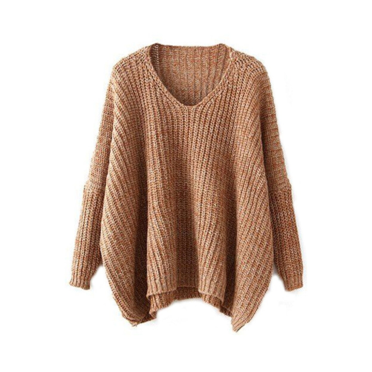 2c4dfedb76c Stylish Women Knitted Long Sleeve Oversized Sweater
