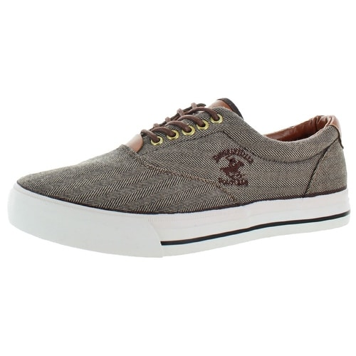 c4e9c74d4b6 Shop Beverly Hills Polo Club Men s Canvas Fashion Boat Shoes Sneakers -  Free Shipping On Orders Over  45 - Overstock - 15648385