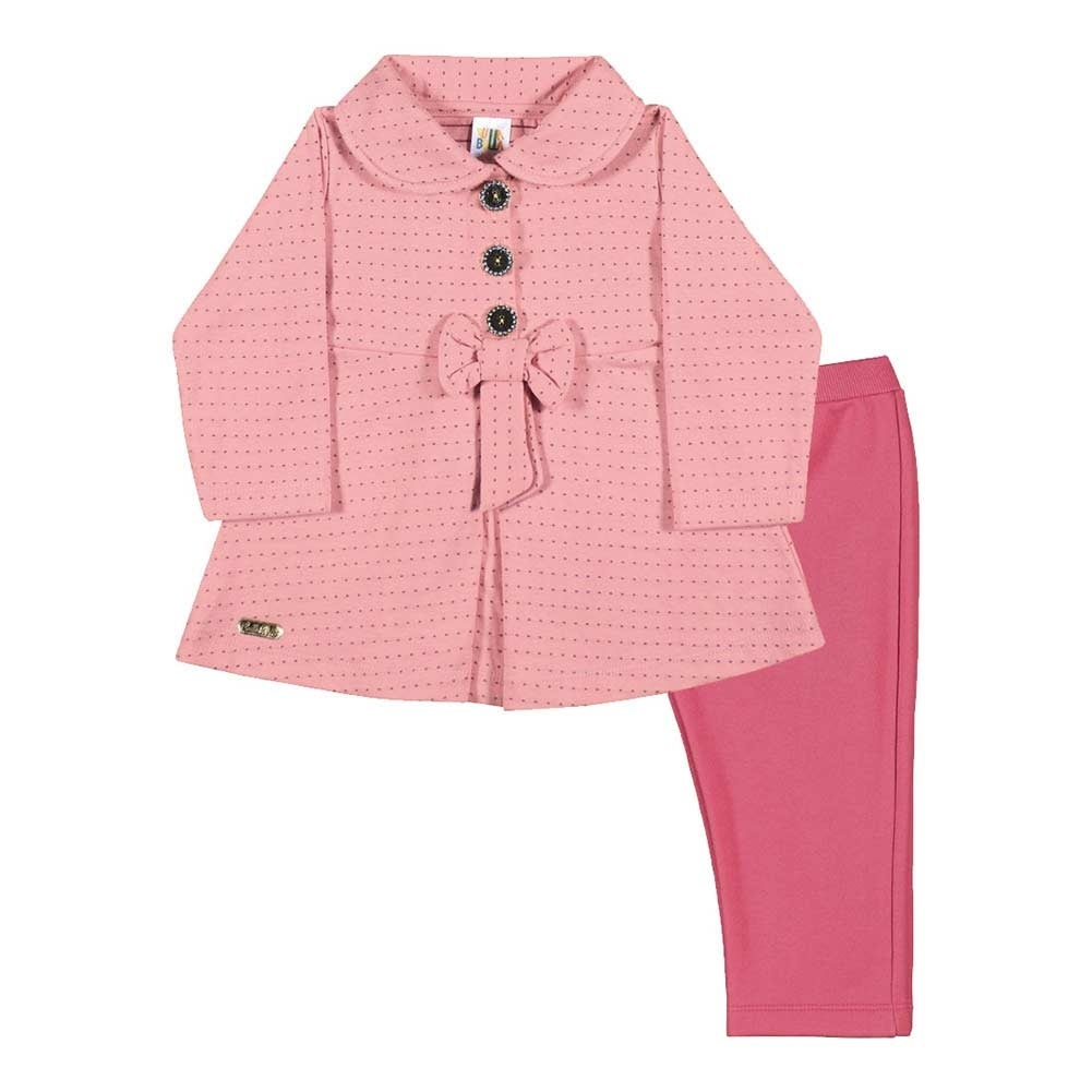 Baby Girl Outfit Winter Blazer Jacket and Leggings Set Pulla Bulla 3-12 Months