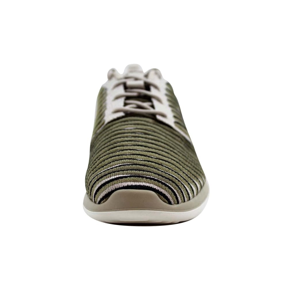 65251c08c1ae Shop Nike Roshe Two Flyknit String String-Neutral Olive-Black 844929-200  Women s - Free Shipping Today - Overstock - 22531432