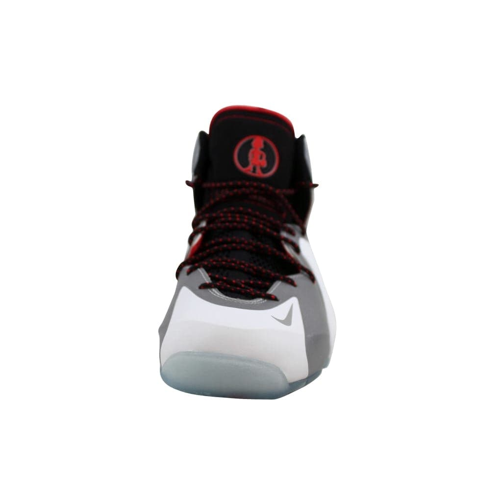 b7172dadc20d1 Shop Nike Men s Lil Penny Posite White Reflect Silver-Black-Chilling Red  630999-100 - Free Shipping Today - Overstock - 22340317