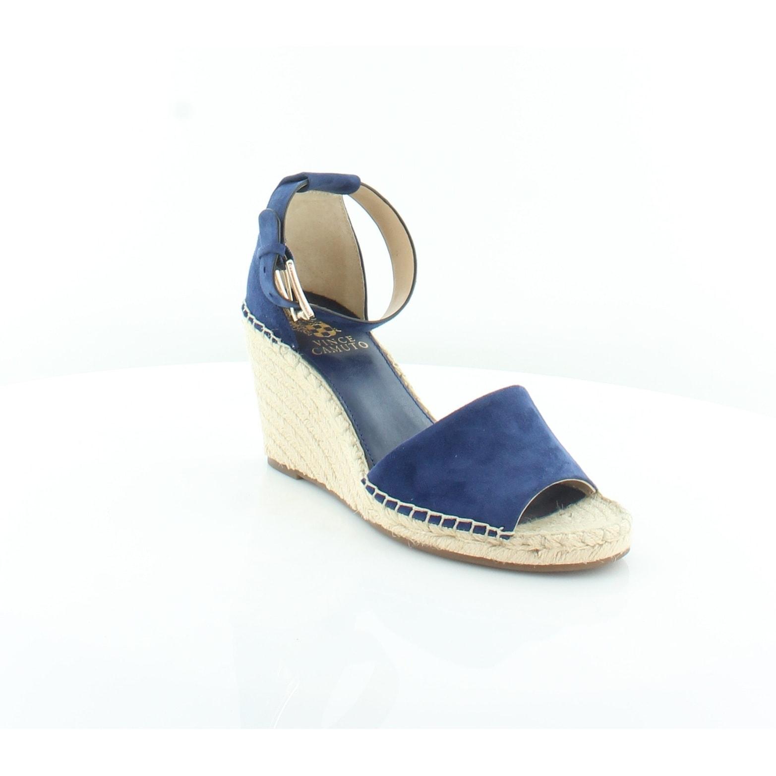 a76018b6280 Vince Camuto Leera Women's Sandals Moody Blues - 7
