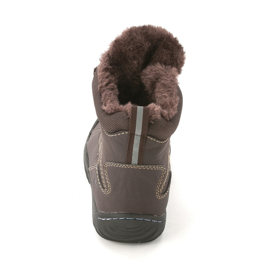 a2a56cc245853 JBU Womens Pullman Round Toe Ankle Cold Weather Boots