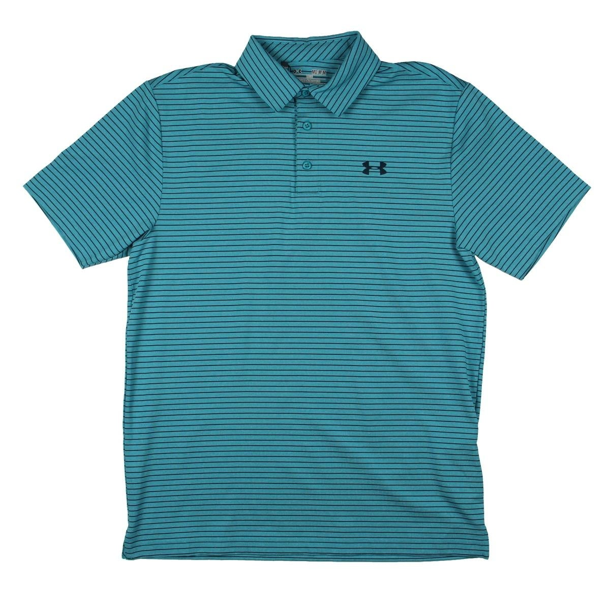 Shop Under Armour Mens Heat Gear Polo Loose Fit Jersey Free