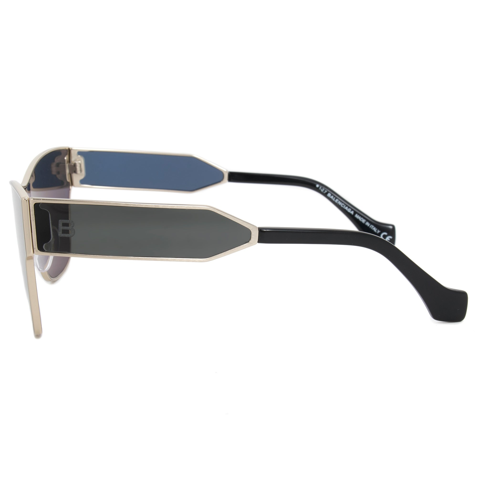 14a14f703c Shop Balenciaga Full Rim Sunglasses BA0095 33A 67 - Free Shipping Today -  Overstock - 21707693