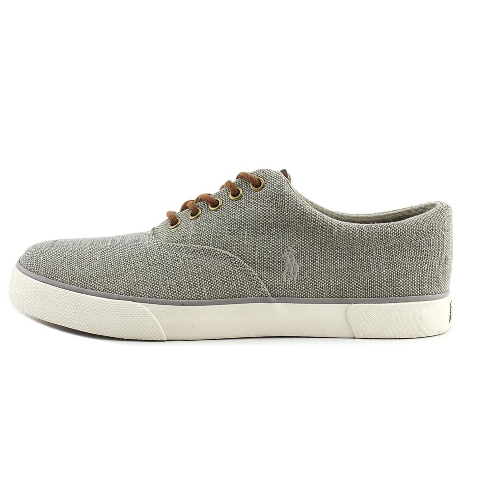d818b20f6 Shop Polo Ralph Lauren Forestmnt lI Men Canvas Gray Fashion Sneakers - Free  Shipping Today - Overstock - 20099651