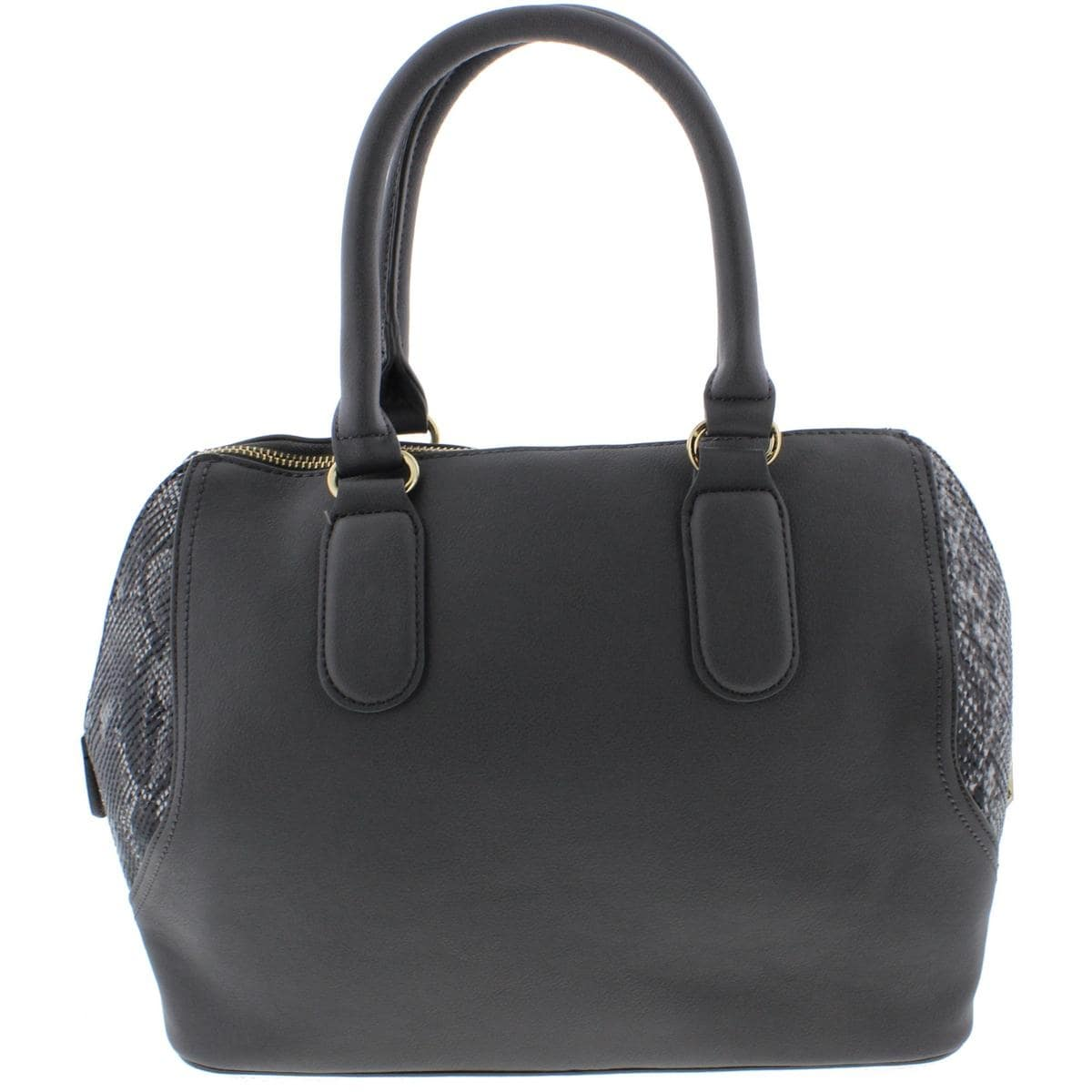 Bebe Womens Roxanne Satchel Handbag Faux Leather Lined Free Shipping On Orders Over 45 13557999