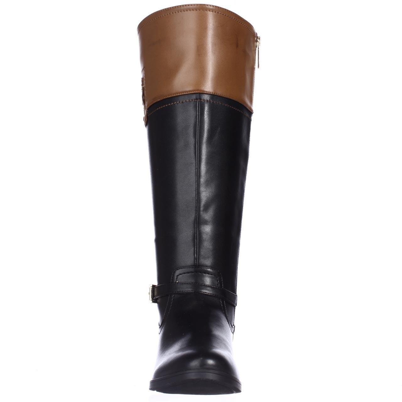 6dcab9bc3c92 Shop Tommy Hilfiger Drea2 Wide Calf Knee-High Riding Boots