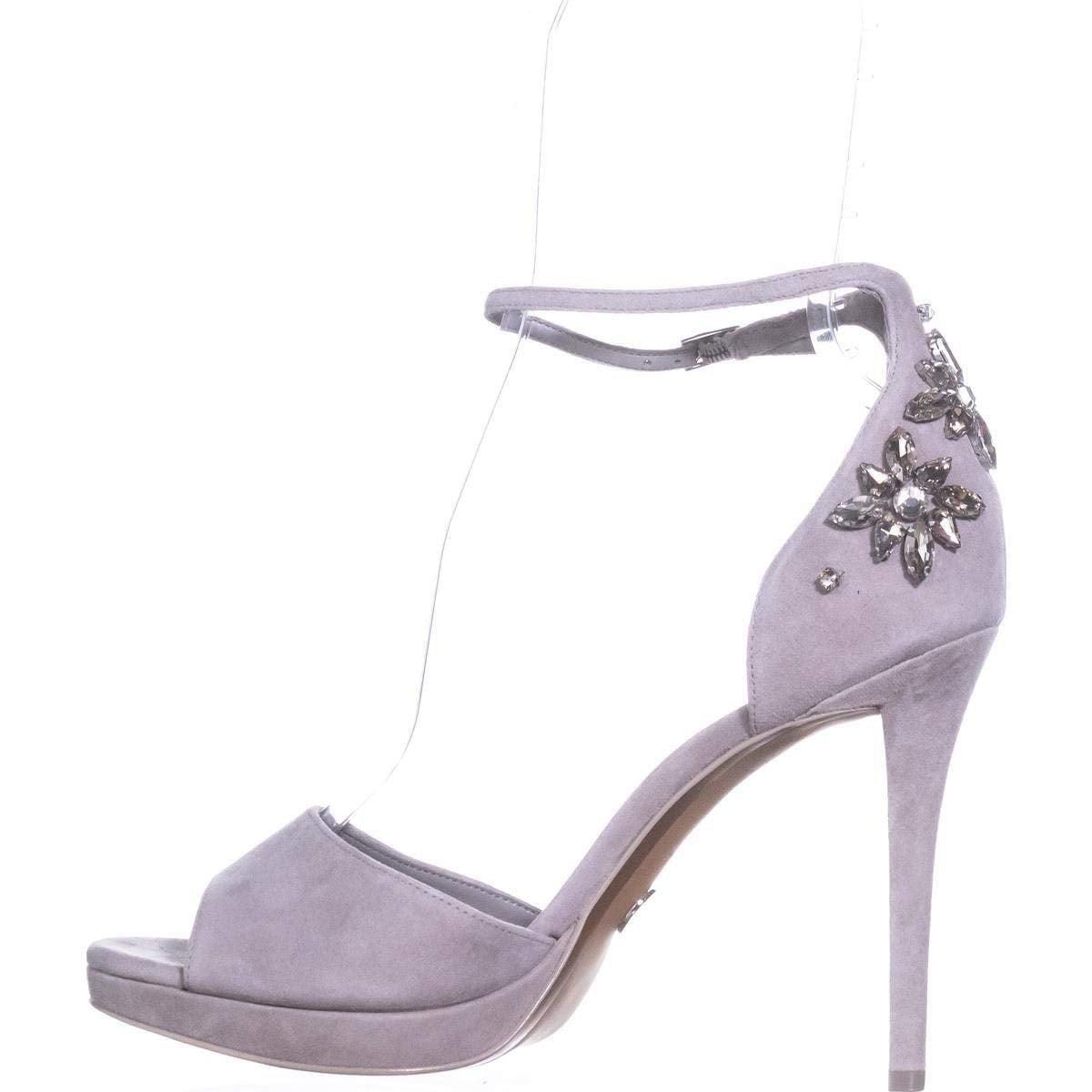 4c9e7963c00e Shop MICHAEL Michael Kors Women s Patti Jeweled Platform Sandal - Free  Shipping Today - Overstock - 25596845