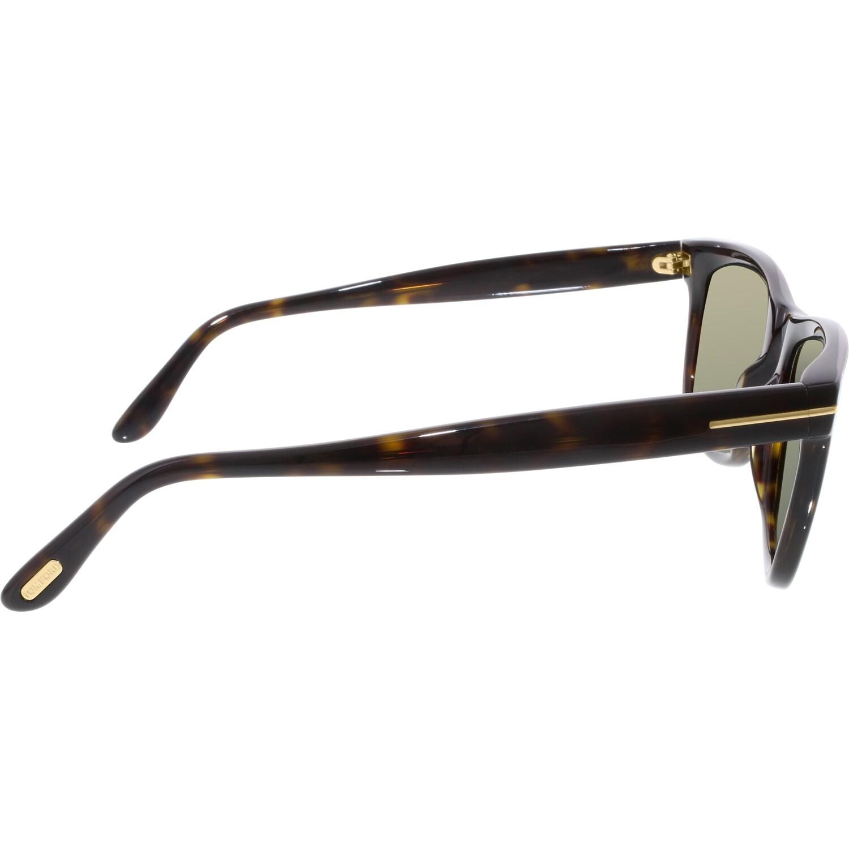 a8e7e12468 Shop Tom Ford Men s Polarized Leo FT0336-56R-52 Tortoiseshell Square  Sunglasses - Free Shipping Today - Overstock - 18901399