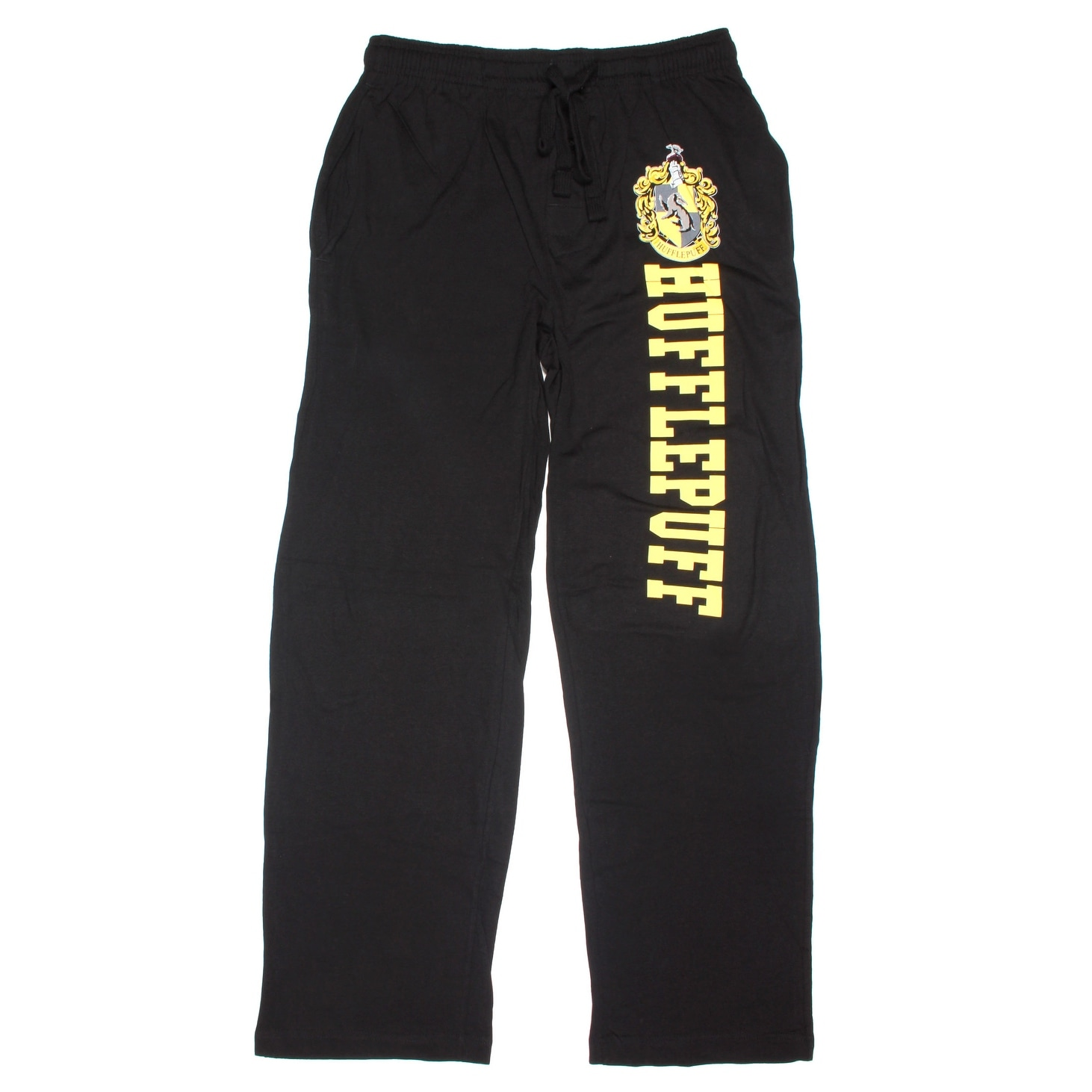 8518dc1d6465 Shop Harry Potter Hufflepuff Men s Pajama Pants - Free Shipping On Orders  Over  45 - Overstock - 22520328