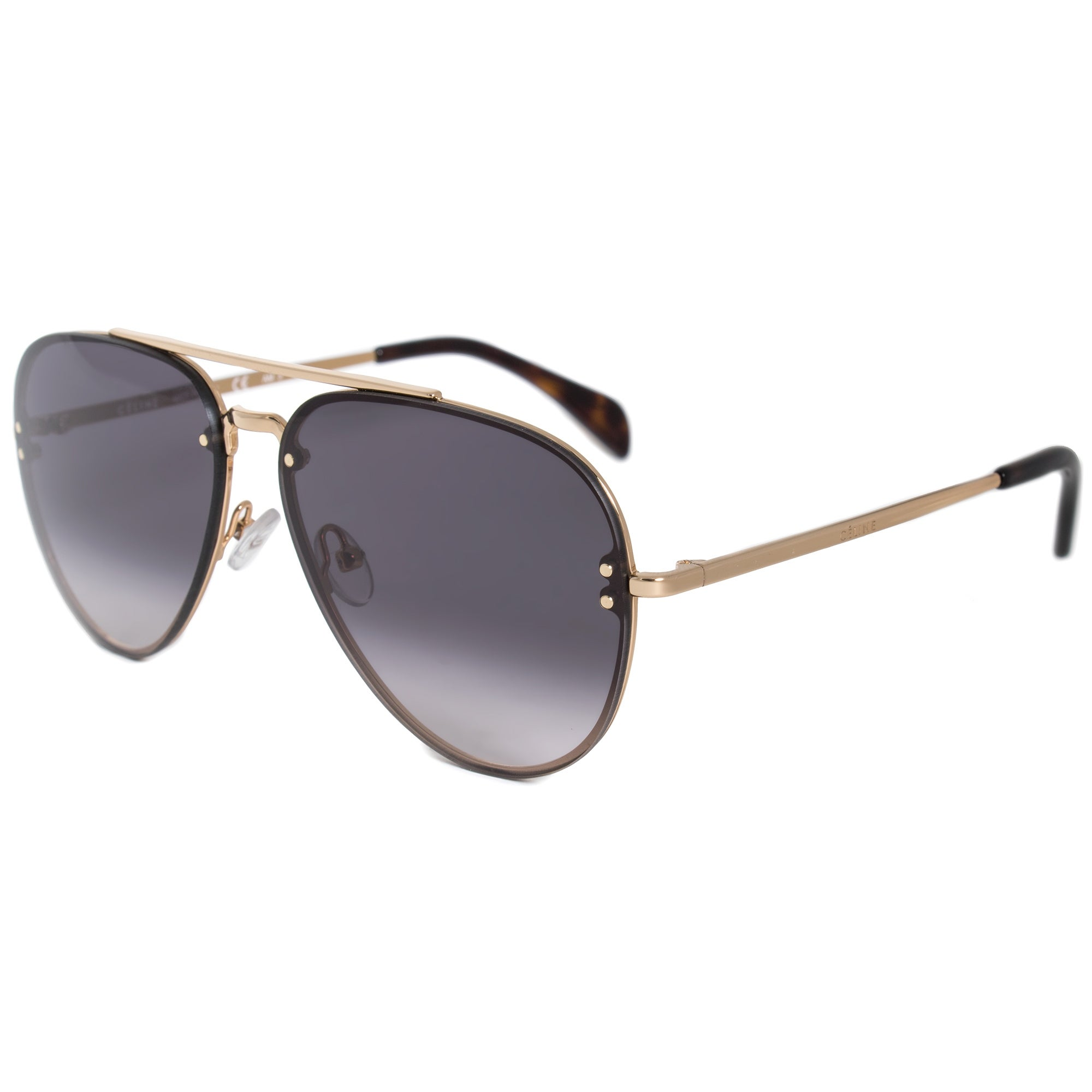 83864384d6f Shop Celine Pilot Sunglasses 41392S J5G W2 58 - Free Shipping Today -  Overstock - 19623338