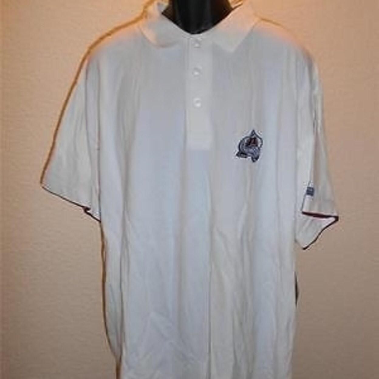 Shop Dirty Colorado Avalanche Polo Shirt Mens Xlarge Tall Xlt