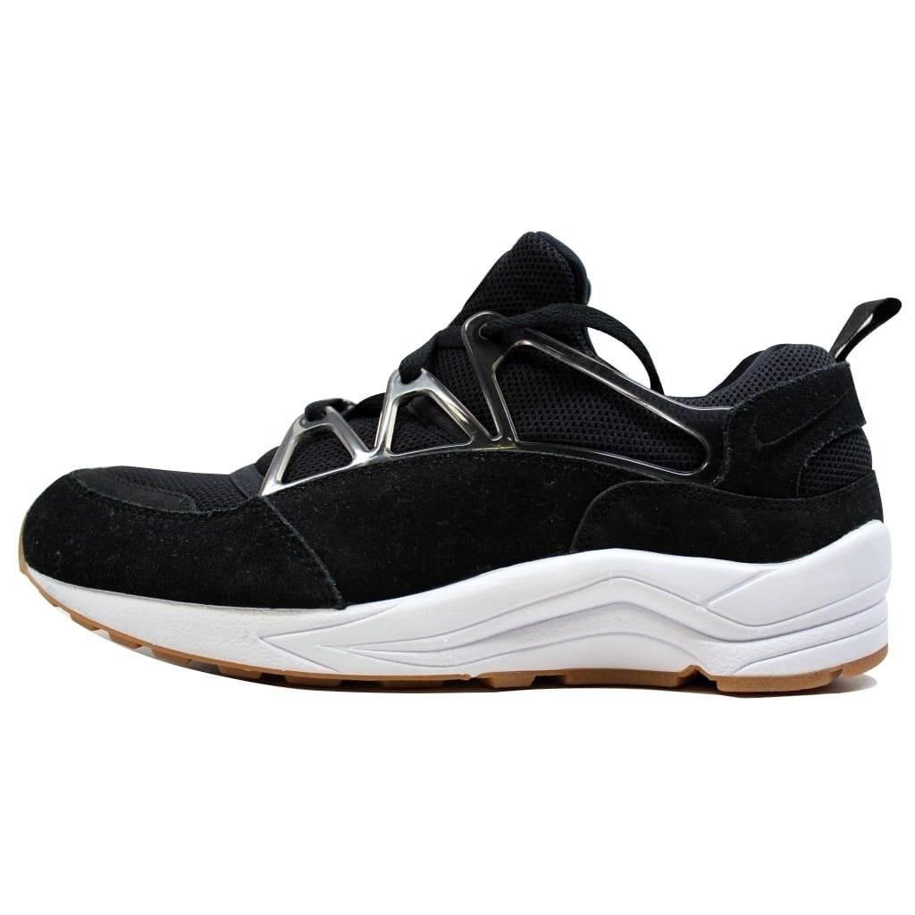 83ad918c6684 Shop Nike Men s Air Huarache Light Black White-Gum Light Brown 306127-001 -  Free Shipping Today - Overstock - 23436951