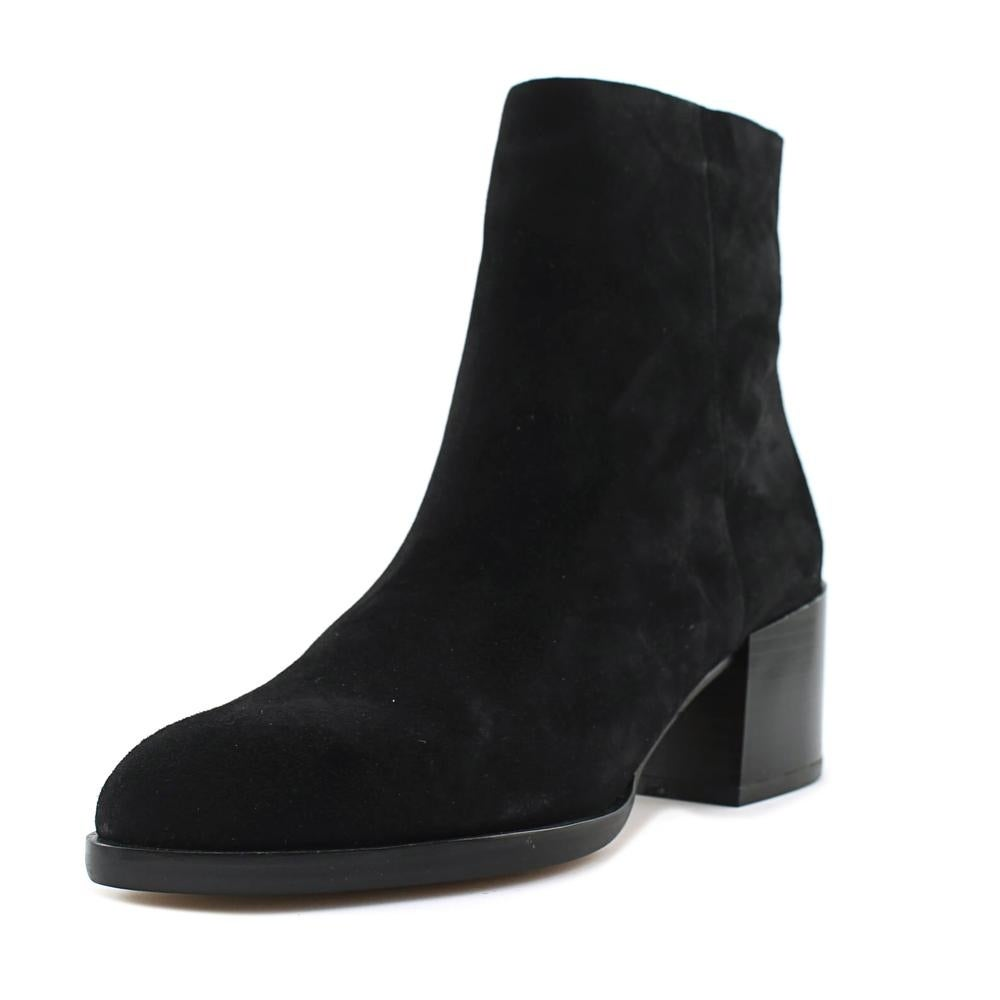 b653d2021830 Shop Sam Edelman Joey Women Round Toe Suede Black Ankle Boot - Free Shipping  Today - Overstock - 19868892