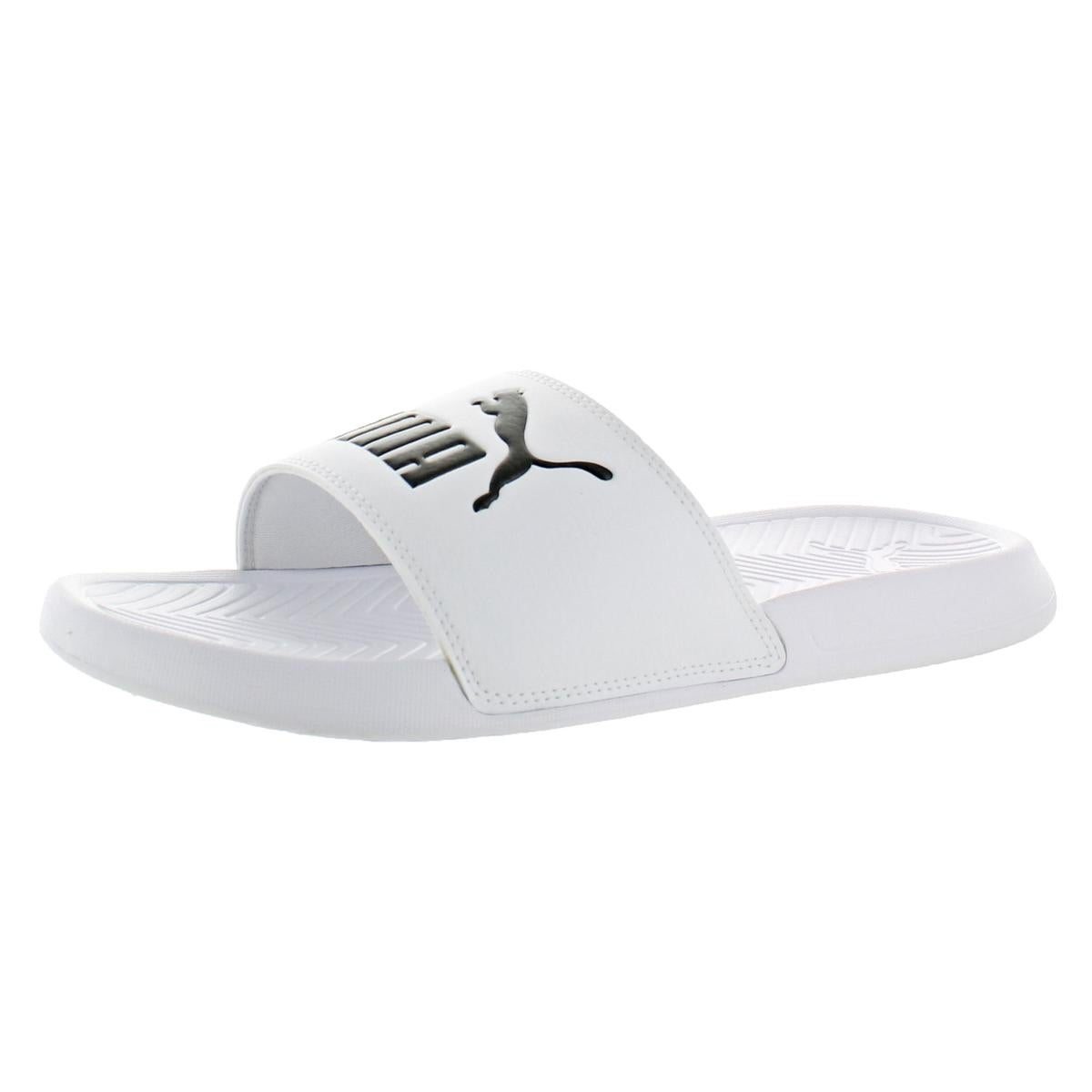 5c0fbc6604c63 Shop Puma Mens Popcat Slide Sandals Lightweight Pool Slide - Free Shipping  On Orders Over  45 - Overstock - 22320581