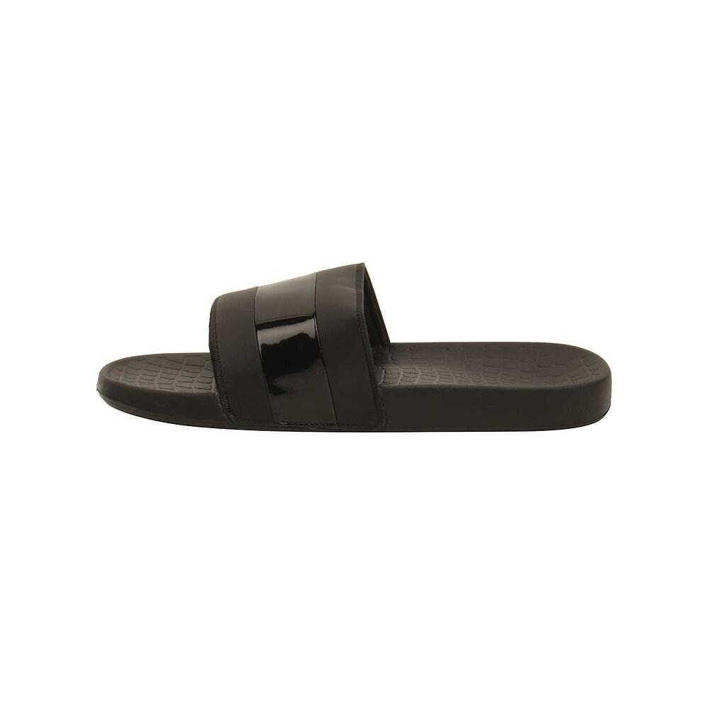 58ae59ee1b566 Shop Lacoste Men s Fraisier 118 1 U Slide Sandal - Free Shipping On Orders  Over  45 - Overstock.com - 22390417
